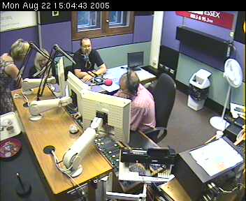 Karen & Ian in the BBC Essex Studio